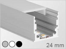 led montageprofil. Black Bedroom Furniture Sets. Home Design Ideas