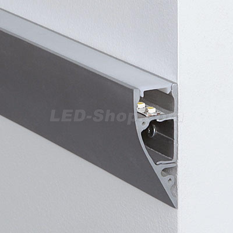 20 x 52mm alu led profil s line wall 2m 22 80 - Profile alu led ...