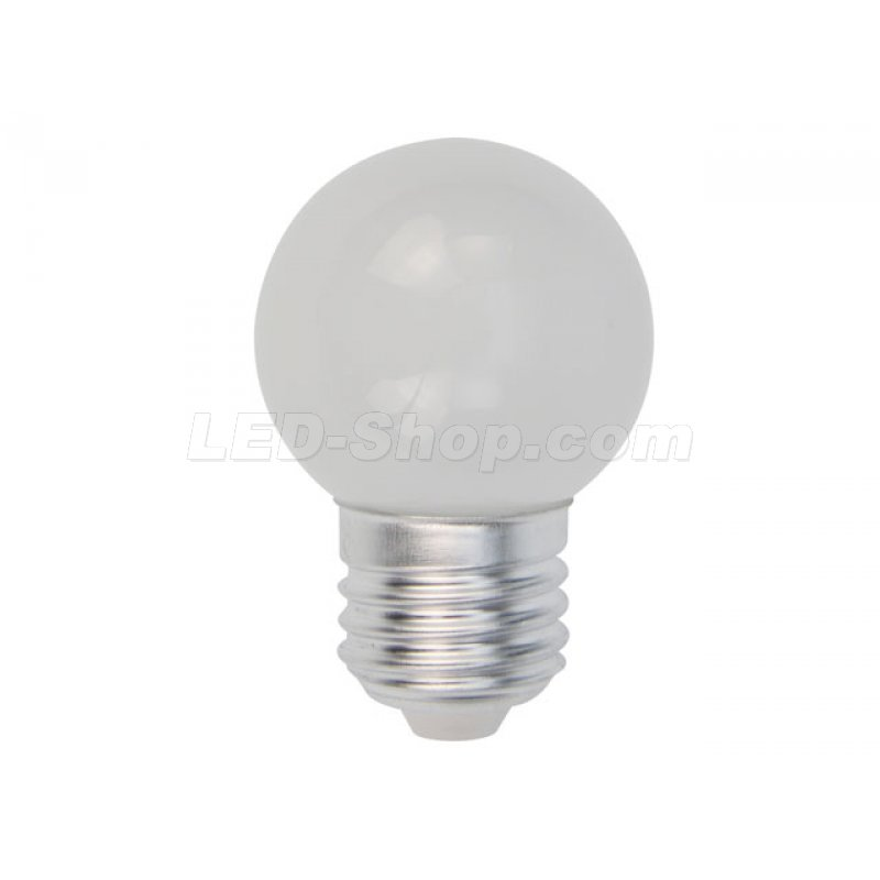 E27 1w led leuchtmittel birne warmweiss 4 17 for Leuchtmittel led