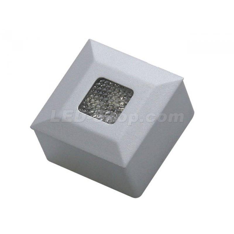 led aufbaustrahler net quadratisch 41 90. Black Bedroom Furniture Sets. Home Design Ideas
