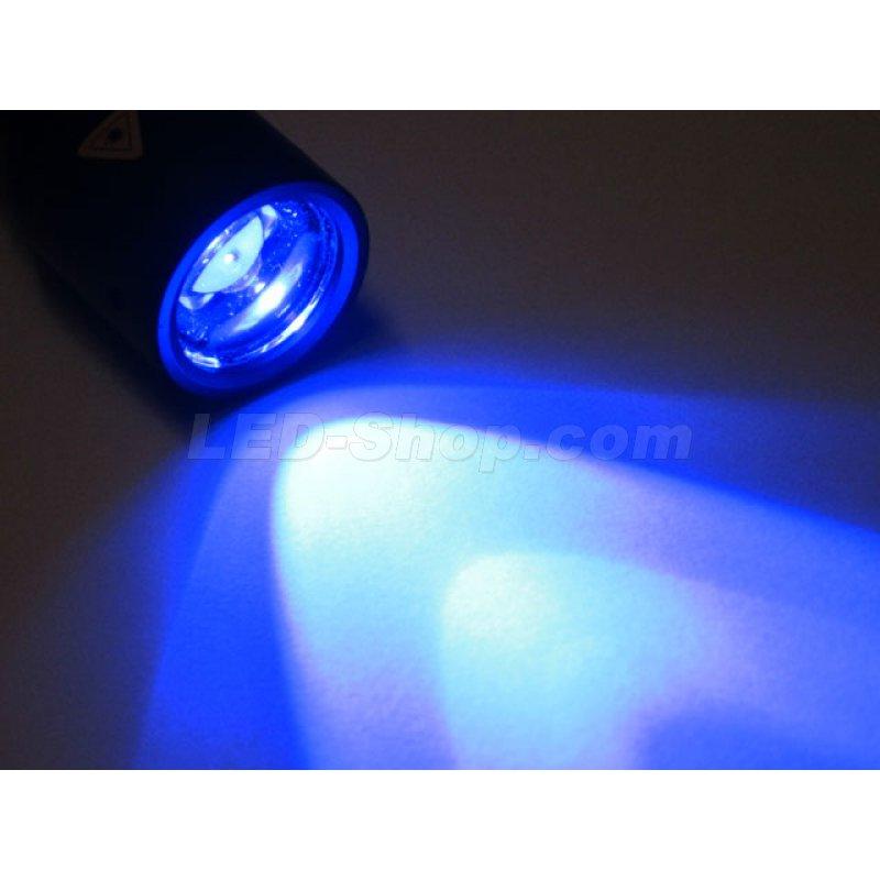 led taschenlampe p6 blau 72 90. Black Bedroom Furniture Sets. Home Design Ideas