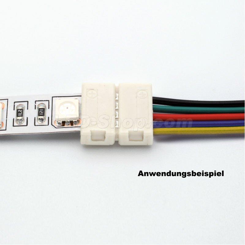 easy connect 12 mm rgbw kabeleinspeiser 2 30. Black Bedroom Furniture Sets. Home Design Ideas