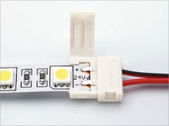 Cable for led applikation with plug