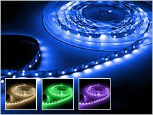LED-Strips colored