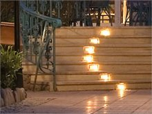 Lights for stairs and ways outdoor