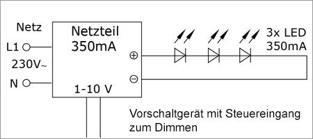 LEDs mit Konstantstrom richtig anschließen