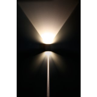 Wall Light Cube Y weiß