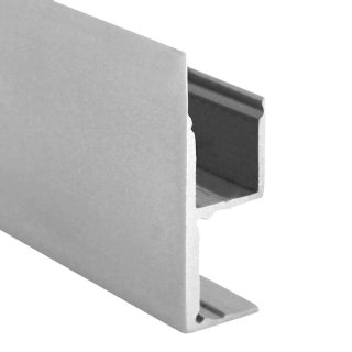 Alu LED-Profil S-Line Wall Square silber 2m