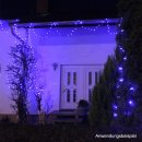 10m Profi- Lichterkette 80 blaue LED IP44
