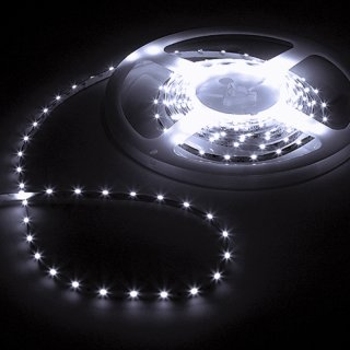 LED-Strip 12V weiß Sideview CRI80 5m Rolle