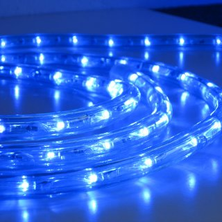 24V LED-Lichtschlauch 13mm blau 30m Rolle