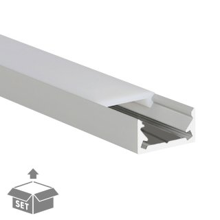LED-Profil Komplett-Set S-Line
