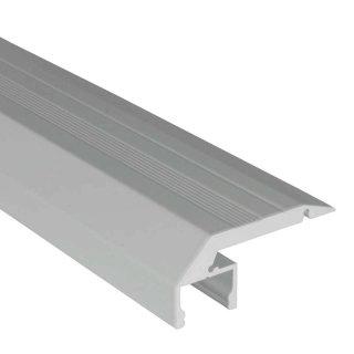 Aluprofil Led Beleuchtung | 2m Aluprofil Treppenstufe Step Down S Line Silber 39 30