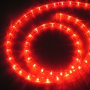 24V LED-Lichtschlauch 13mm rot 30m Rolle
