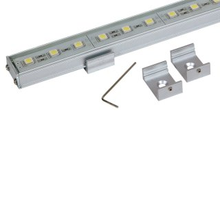 LED Alu Stripe S IP53 100cm weiß