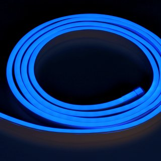LED Flex-Tube Flat blau