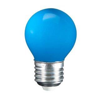 E27 1W LED Leuchtmittel Birne Blau