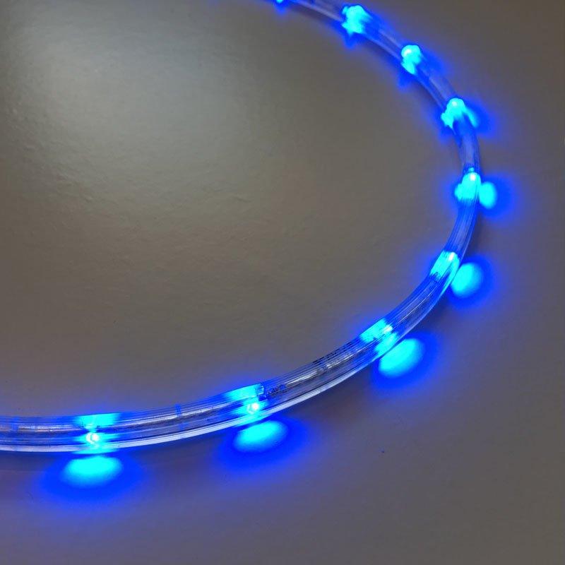 12v led lichtschlauch slimline blau 3m 44 70. Black Bedroom Furniture Sets. Home Design Ideas