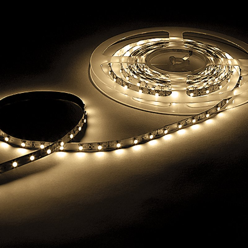 led strip 12v warmwei 5m rolle pro 45 20. Black Bedroom Furniture Sets. Home Design Ideas